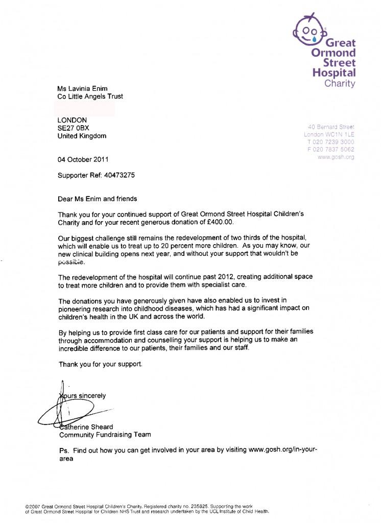 Charity Letter For Hospital] Hospital Volunteer Recommendation